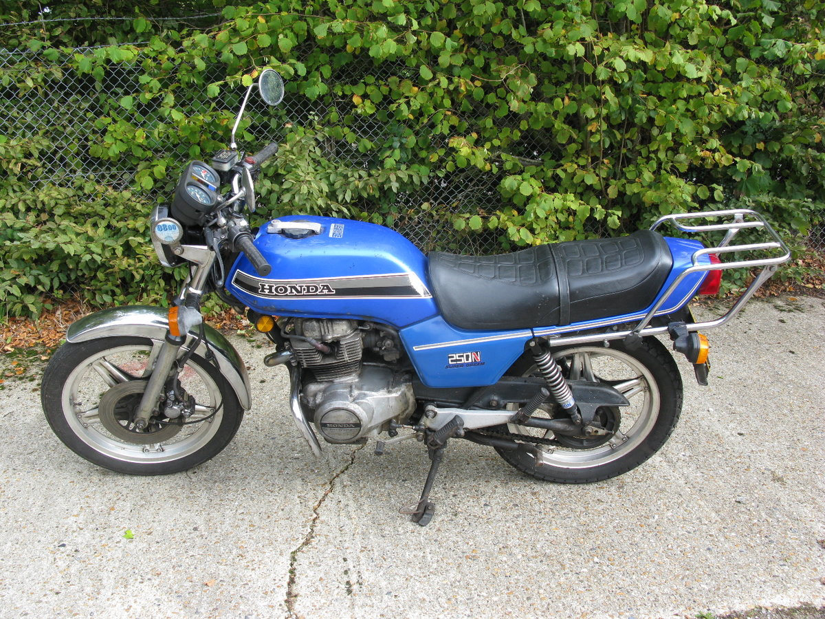 1980 Honda 250N Super Dream For Sale by Auction (picture 4 of 5)