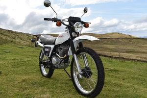 Classic Honda XL185S Trail Bike