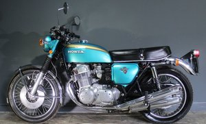 1971 Honda 750/4 K1 (Warning Lights In Speedo)