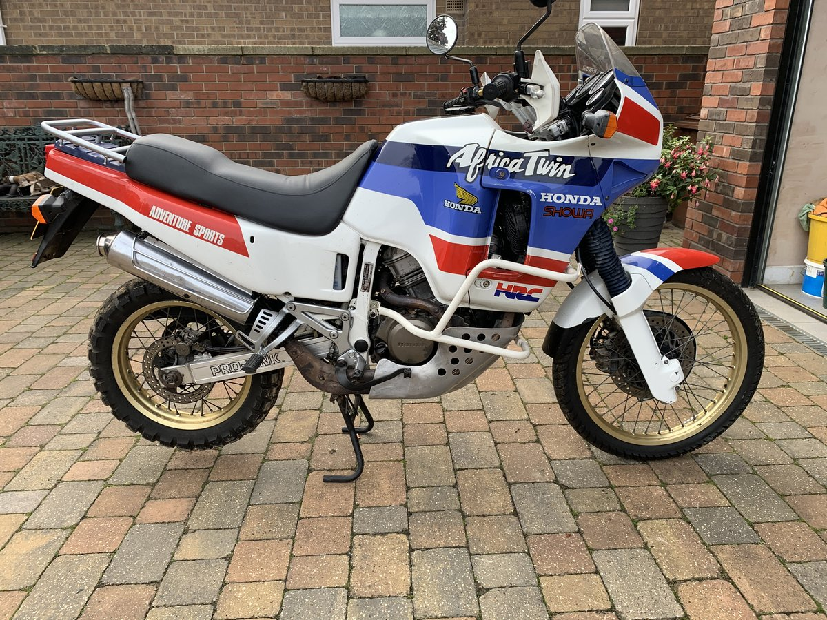 1989 Honda Africa Twin XRV650 RD03 For Sale (picture 1 of 4)