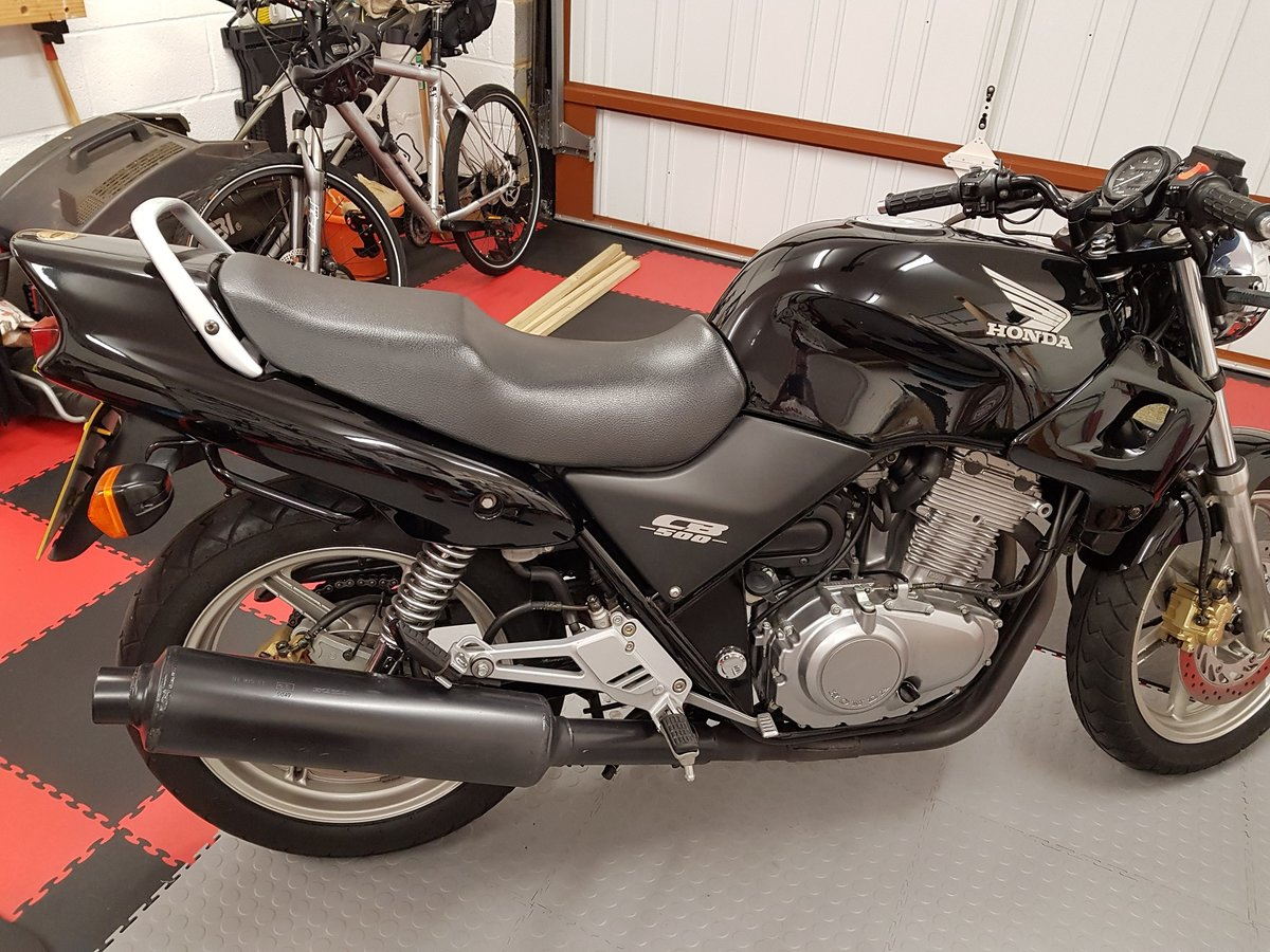 2003 Honda CB500Y Amazing for year........ SOLD (picture 1 of 6)