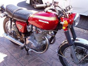 Classic Honda CB450 Super Sport