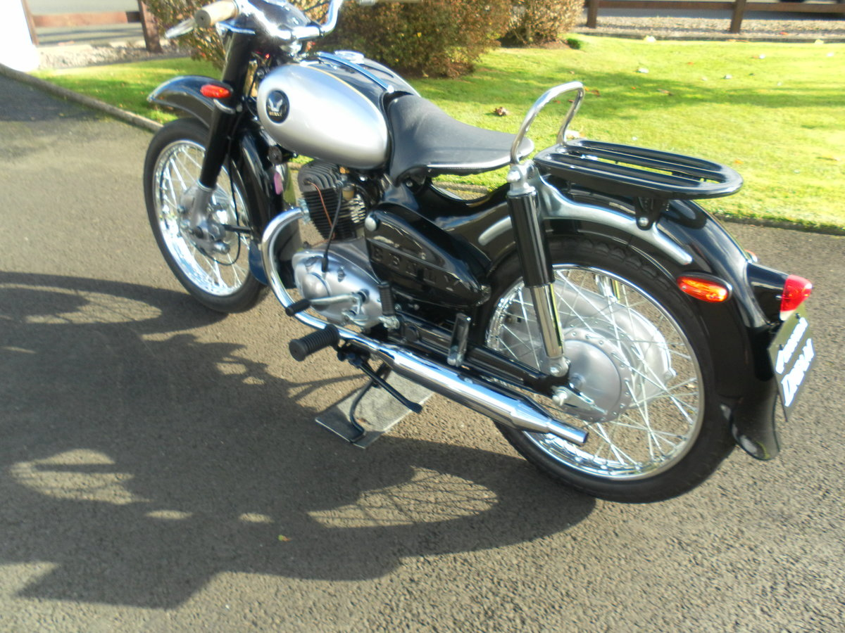 1958 125 BENLY Motorcycle For Sale (picture 1 of 6)