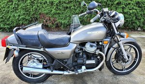 1983 Honda Silver Wing with side car, 650cc.
