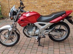Honda CBF250. Nice bike. retired engineer rebuild