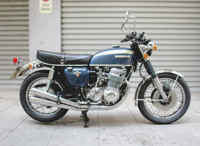 HONDA CB 750 FOUR (1974) RESTORED For Sale (picture 1 of 6)