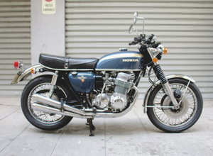 HONDA CB 750 FOUR (1974) RESTORED