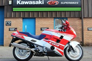 1991 J HONDA CBR1000F RED / WHITE