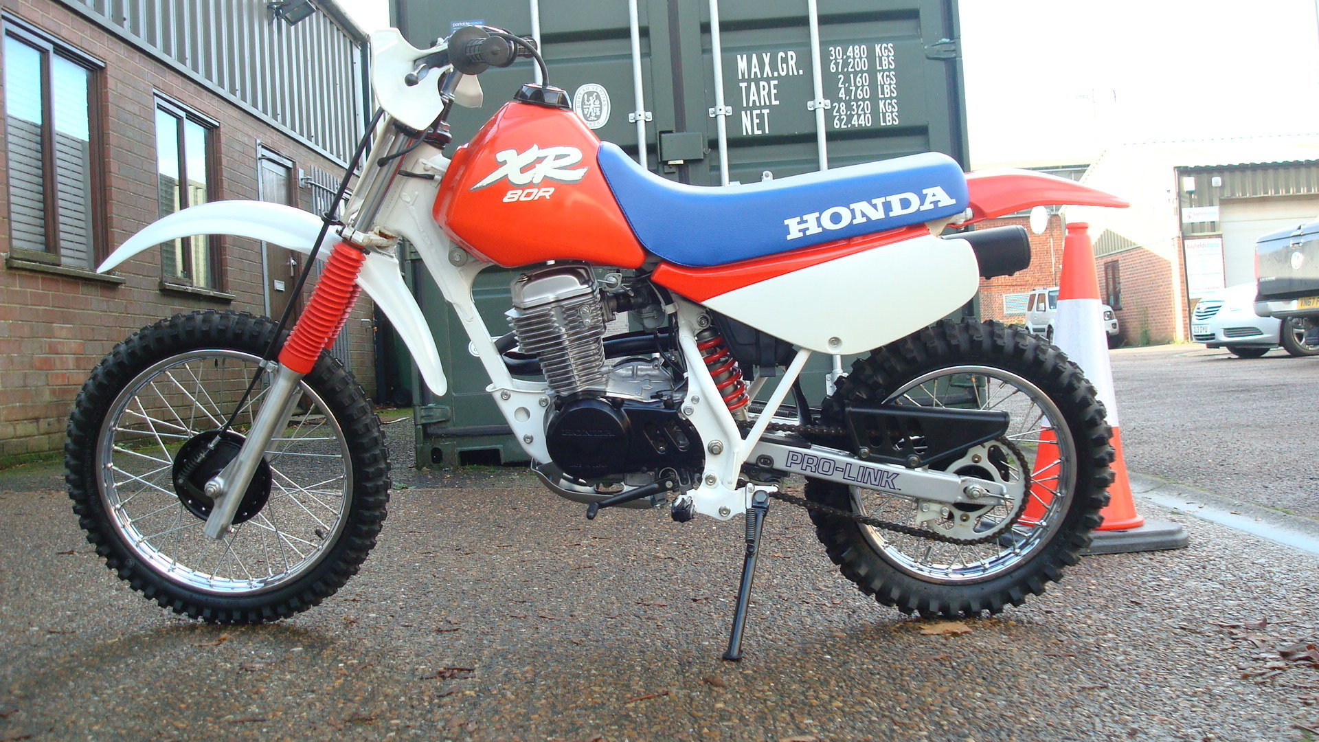 Honda XR80 R 1988 MODEL YEAR **NOS** SOLD (picture 6 of 6)