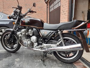 Picture of 1980 Honda cbx 1000 all original in black
