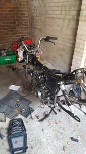 Honda cm125 recent refurb pls read ad
