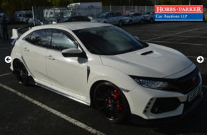 2017 Honda Civic Type R VTEC Turbo 22,812 Miles for auction