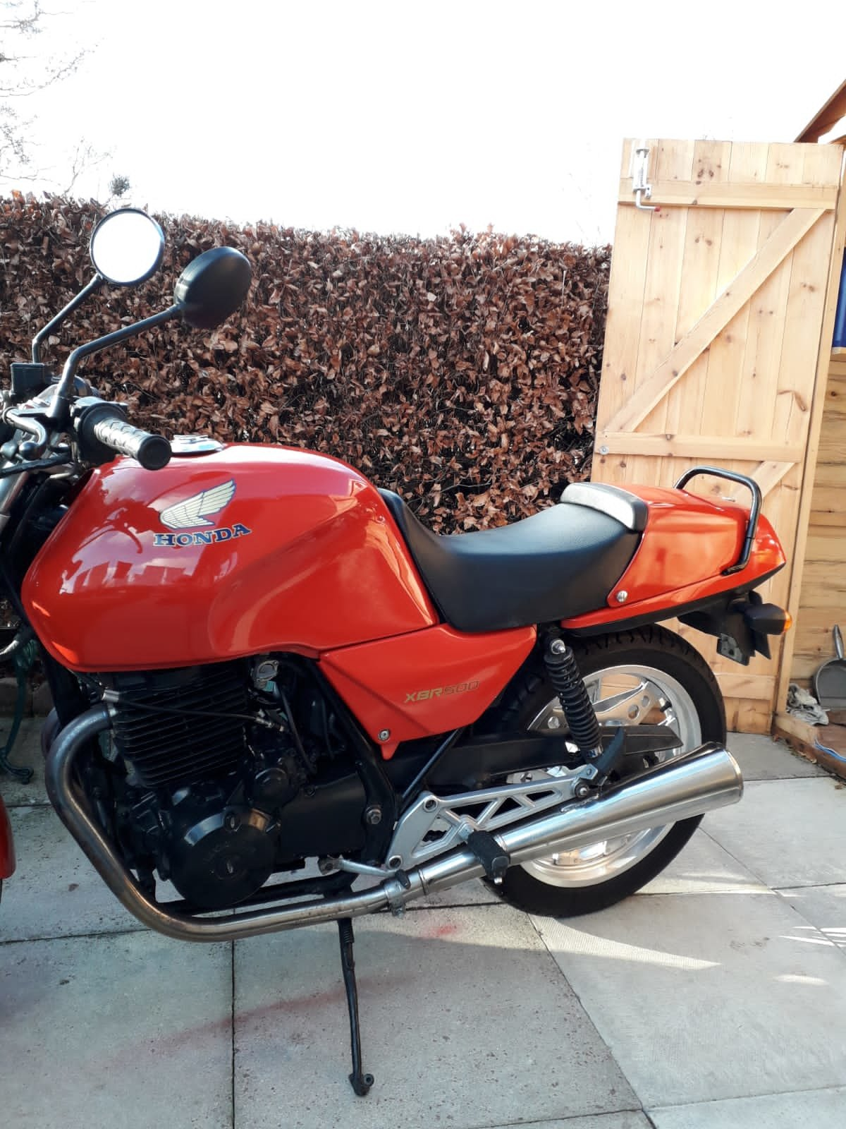 Honda XBR 500 1982 rare useable bike!
