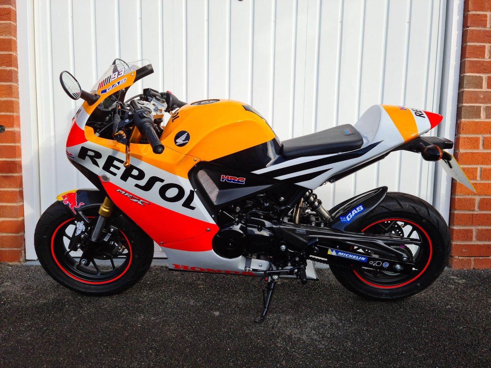 Honda Grom  Marc Marquez replica