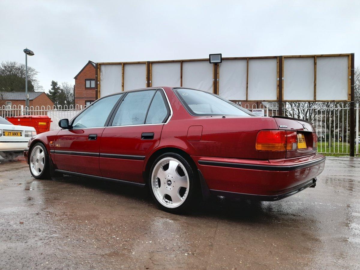 1993 Honda Accord 2.0I CB3 4door Maroon great condition ...