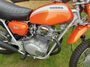 Picture of Honda SL350 K1 1971 stunning condition