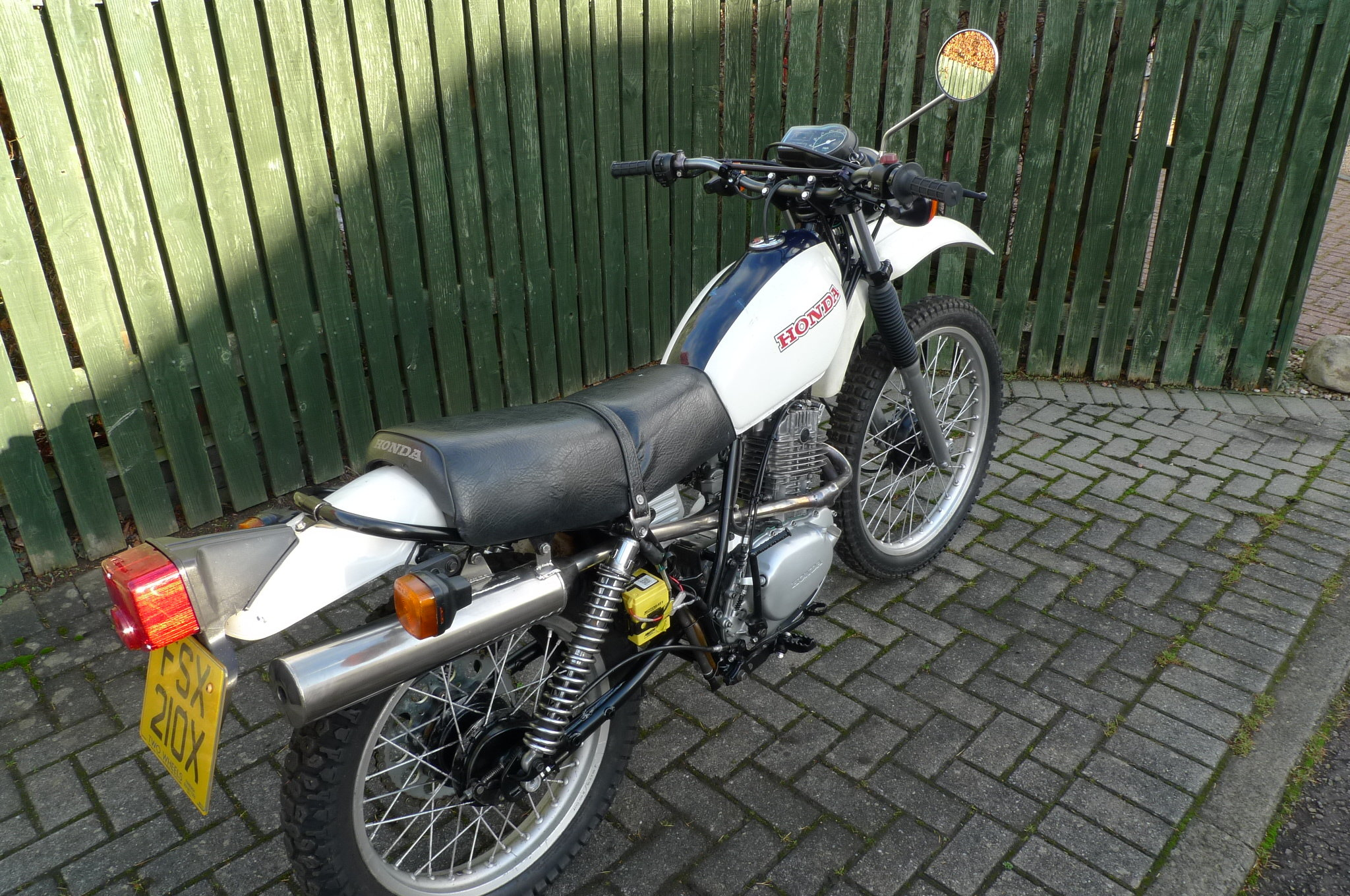 1981 HONDA XL250 S    NOW SOLD SOLD (picture 6 of 6)