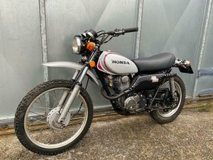 HONDA XL 250 MOTOSPORT MOTORSPORT CLASSIC TRAIL TRIALS BIKE