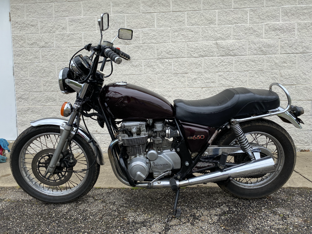 1982 Honda CB650C For Sale (picture 6 of 12)