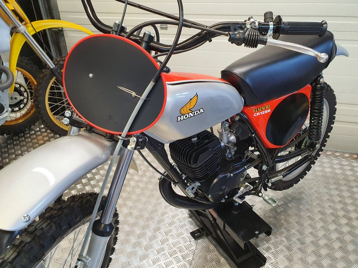 1975 Honda elsinore cr125m classic twinshock For Sale (picture 1 of 12)
