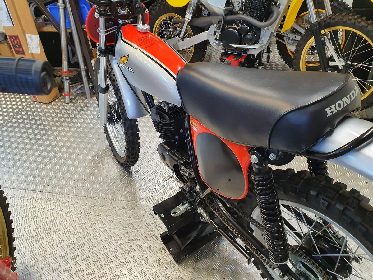 1975 Honda elsinore cr125m classic twinshock For Sale (picture 2 of 12)