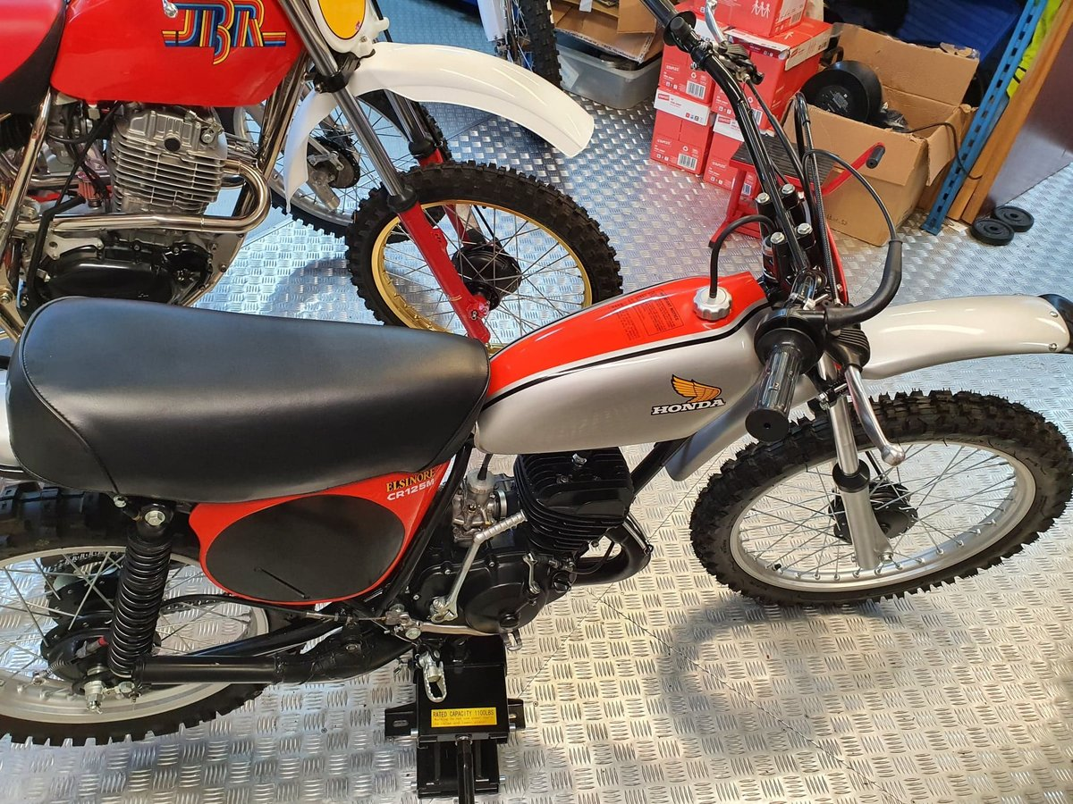 1975 Honda elsinore cr125m classic twinshock For Sale (picture 4 of 12)
