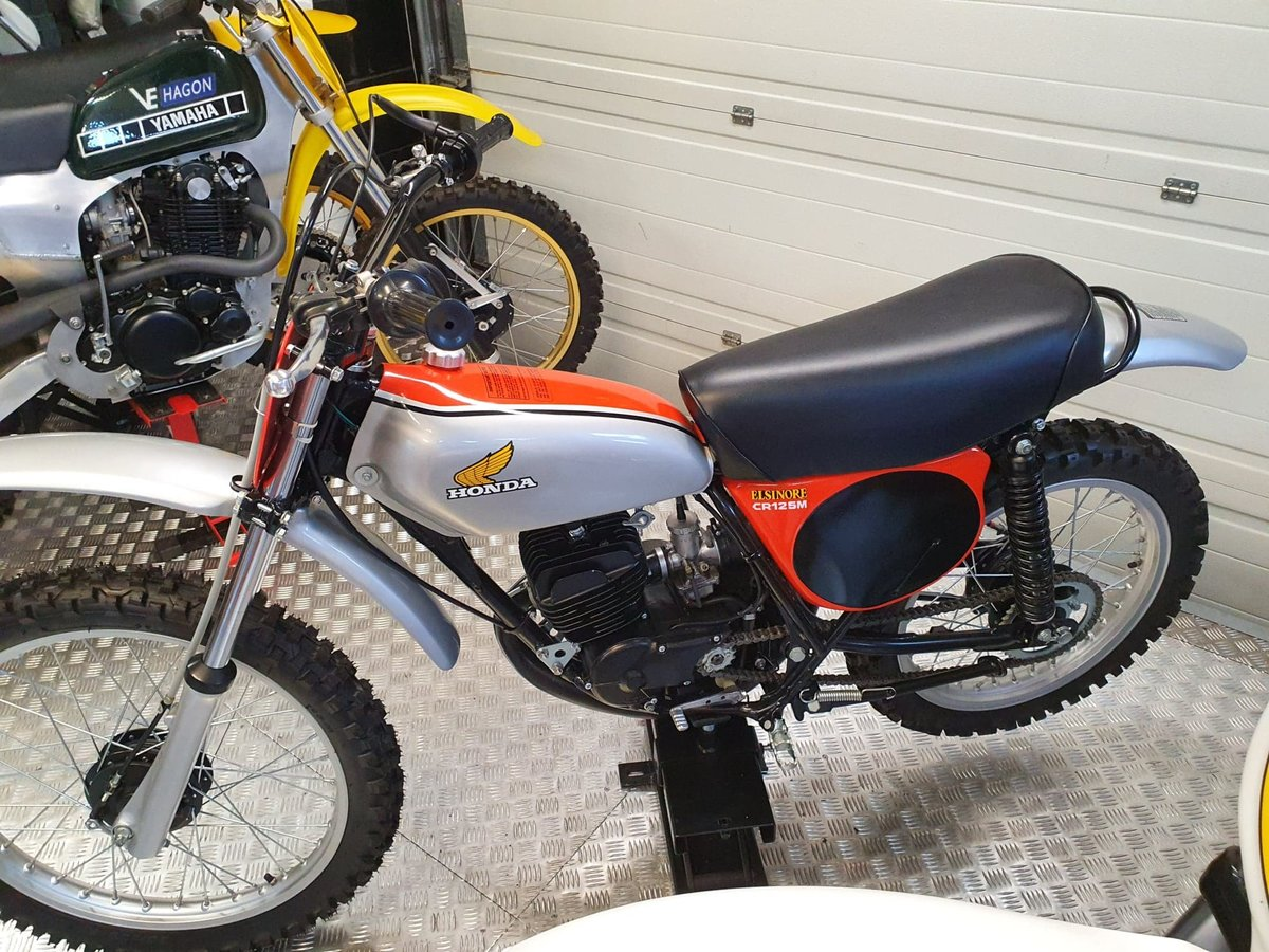 1975 Honda elsinore cr125m classic twinshock For Sale (picture 6 of 12)