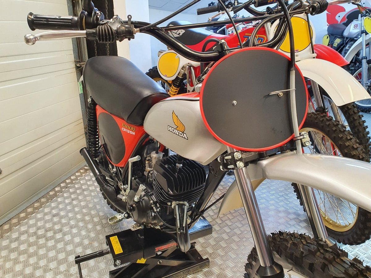 1975 Honda elsinore cr125m classic twinshock For Sale (picture 7 of 12)