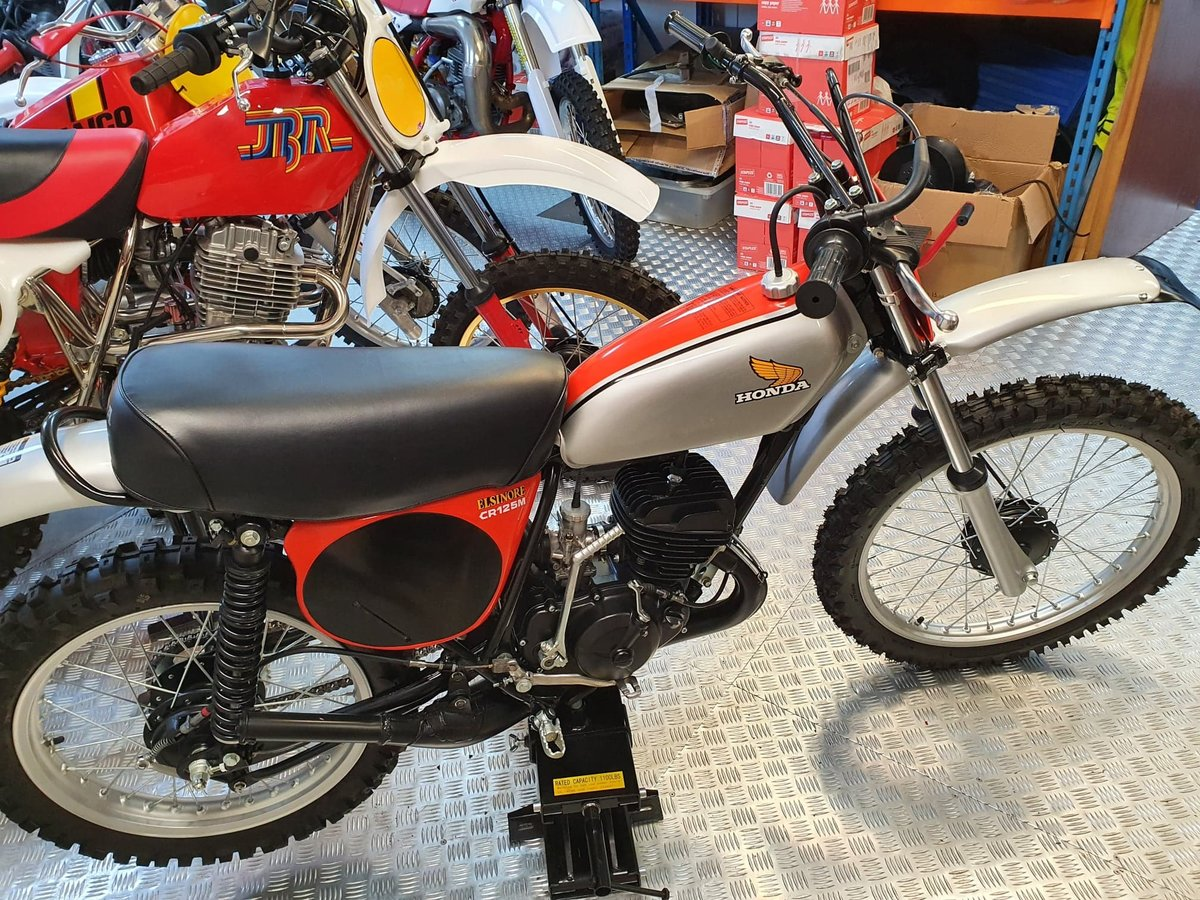 1975 Honda elsinore cr125m classic twinshock For Sale (picture 9 of 12)