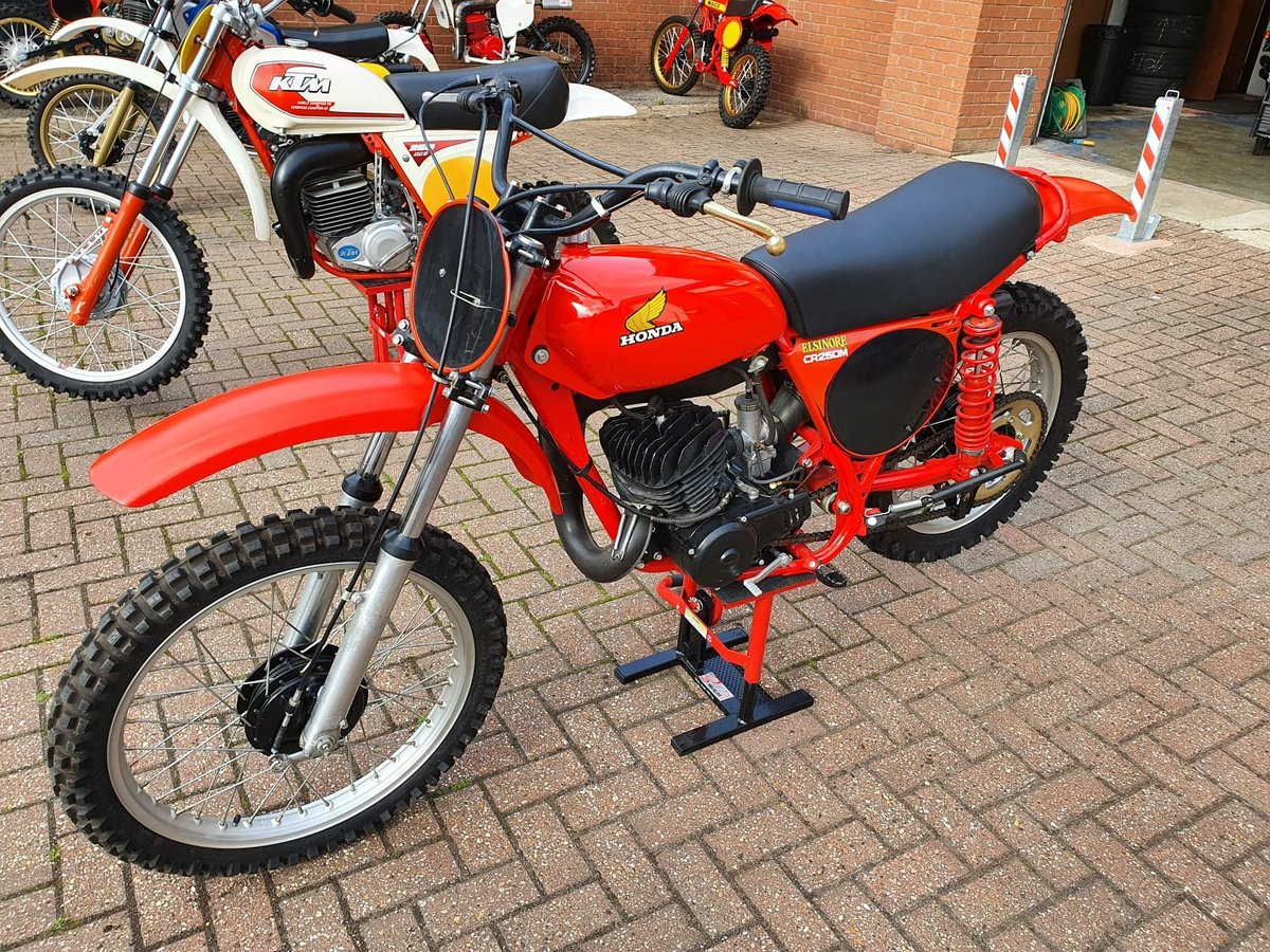 1976 Honda elsinore cr250m, classic twinshock mx SOLD (picture 1 of 12)