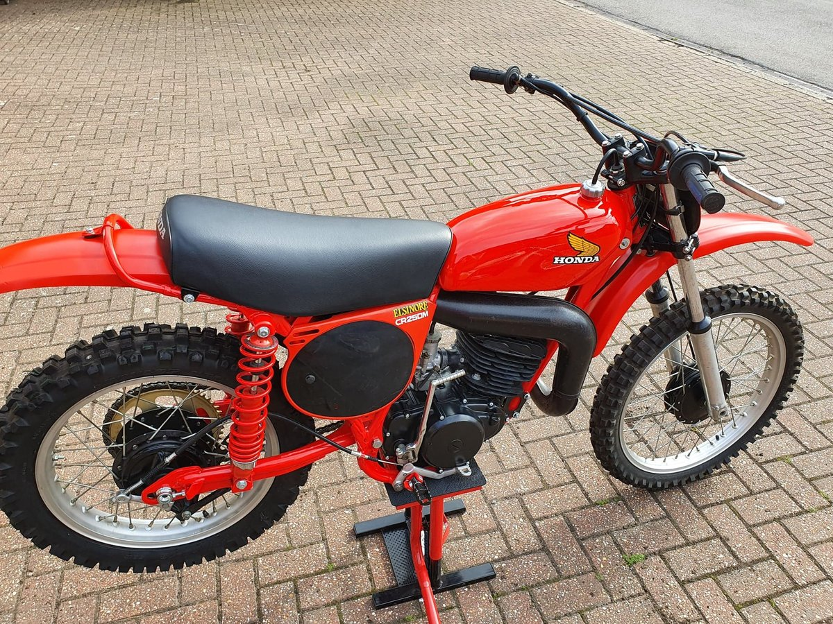 1976 Honda elsinore cr250m, classic twinshock mx SOLD (picture 3 of 12)
