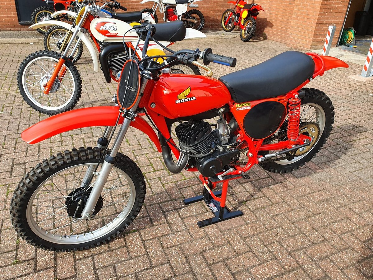 1976 Honda elsinore cr250m, classic twinshock mx SOLD (picture 4 of 12)