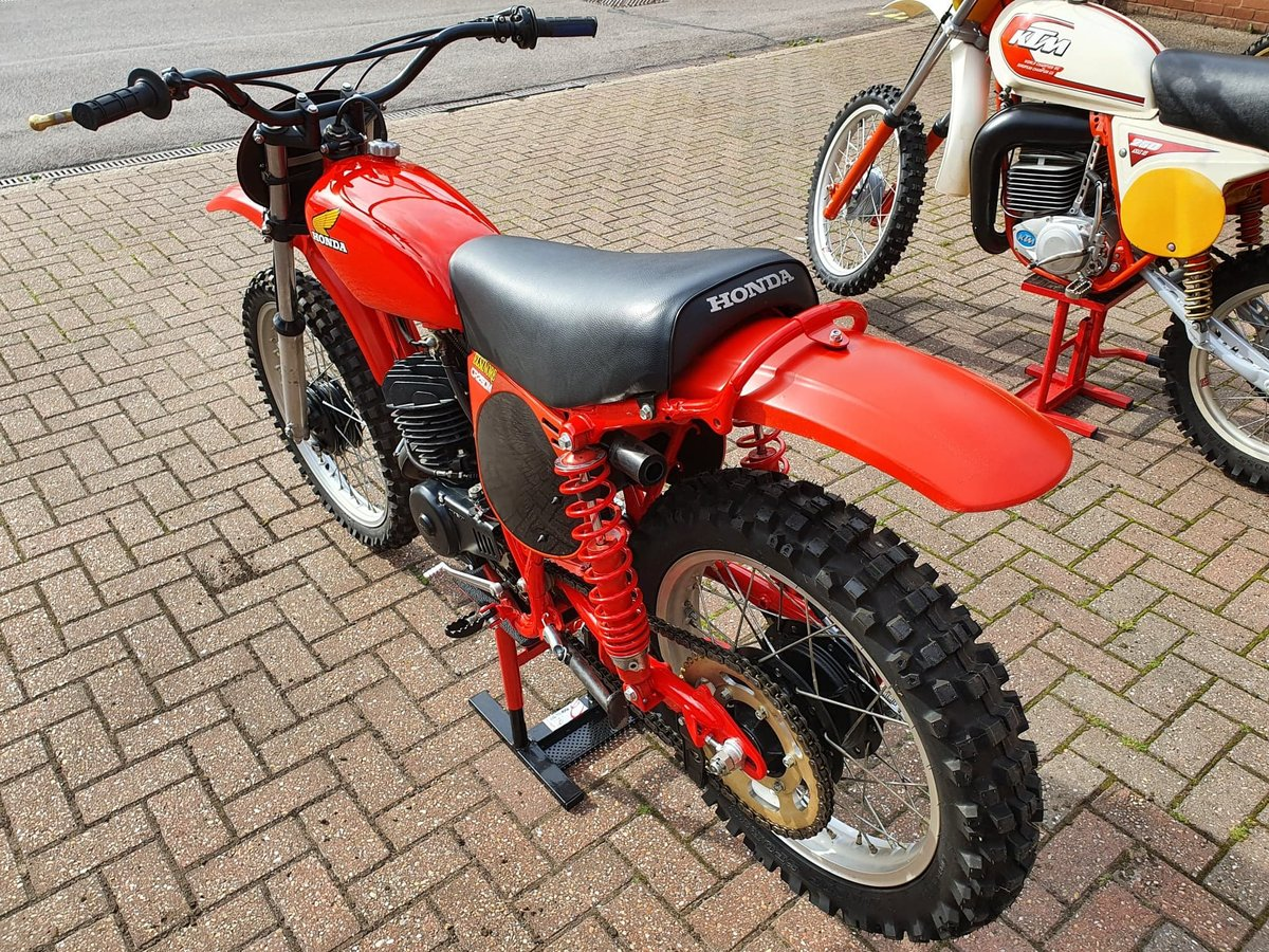 1976 Honda elsinore cr250m, classic twinshock mx SOLD (picture 5 of 12)