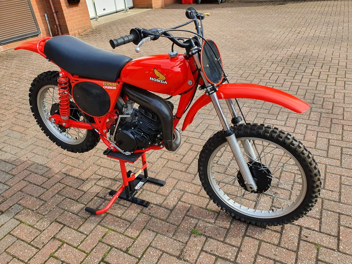 1976 Honda elsinore cr250m, classic twinshock mx SOLD (picture 7 of 12)