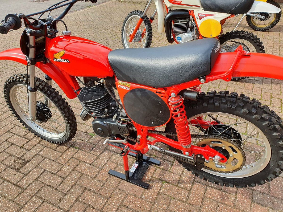 1976 Honda elsinore cr250m, classic twinshock mx SOLD (picture 8 of 12)