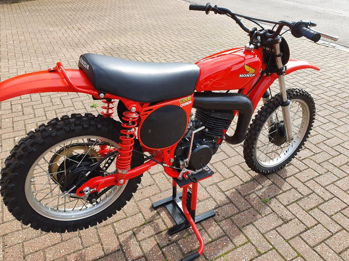 1976 Honda elsinore cr250m, classic twinshock mx SOLD (picture 9 of 12)