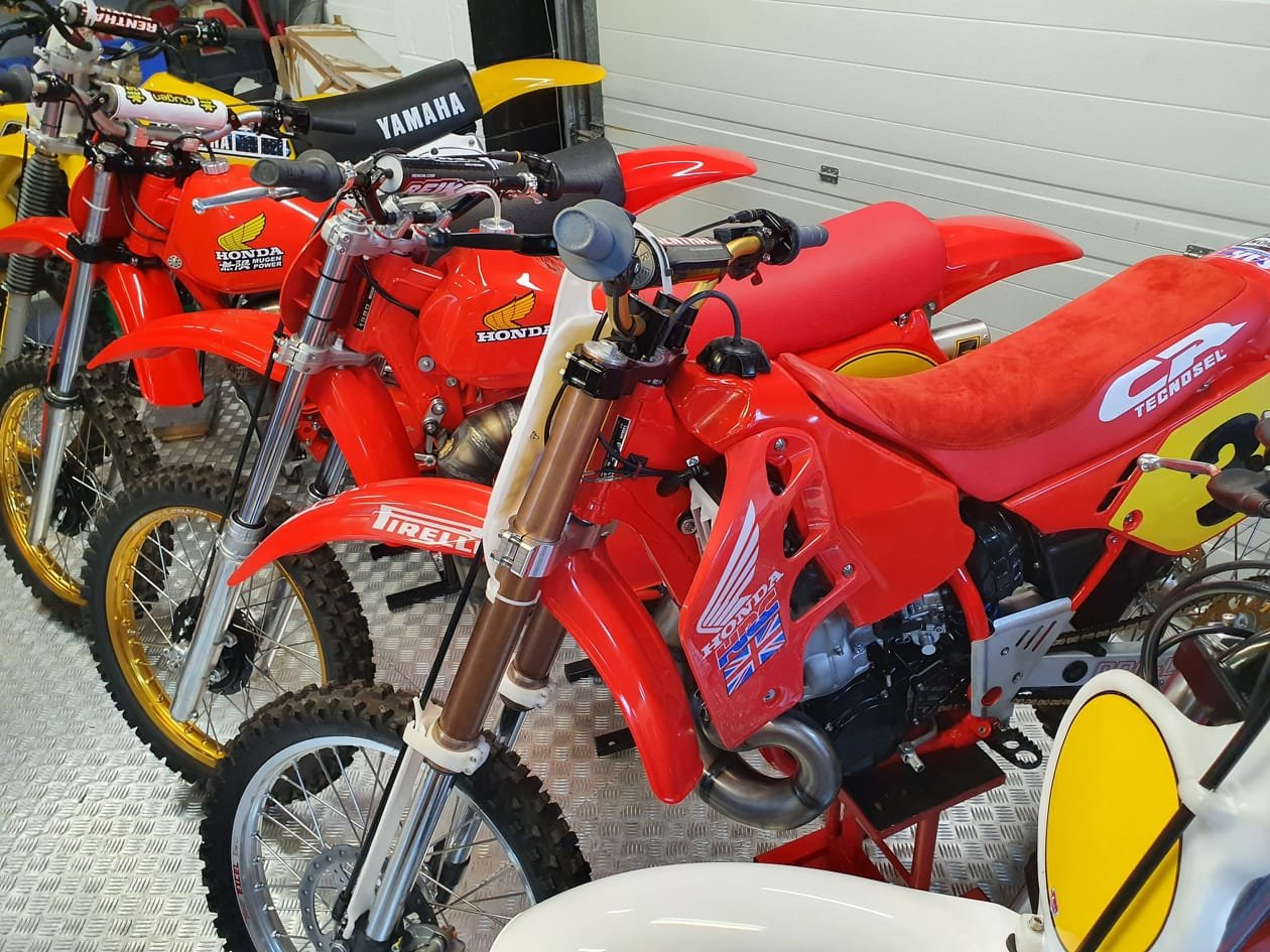 1976 Honda elsinore cr250m, classic twinshock mx SOLD (picture 10 of 12)