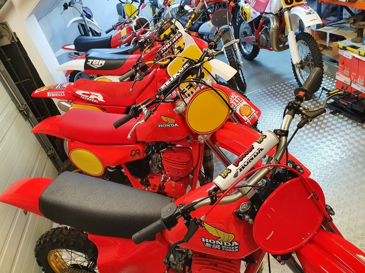 1976 Honda elsinore cr250m, classic twinshock mx SOLD (picture 11 of 12)