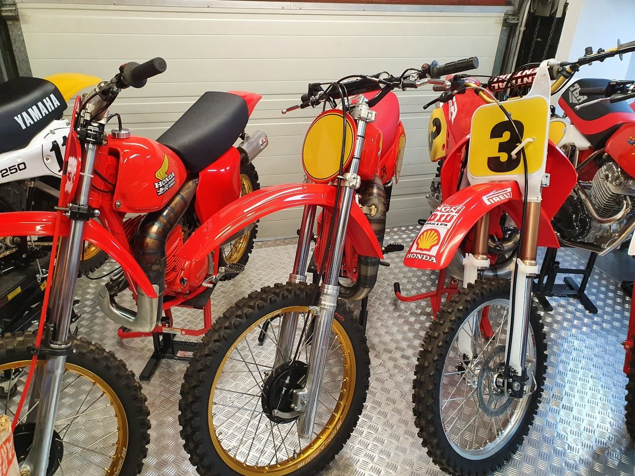 1976 Honda elsinore cr250m, classic twinshock mx SOLD (picture 12 of 12)