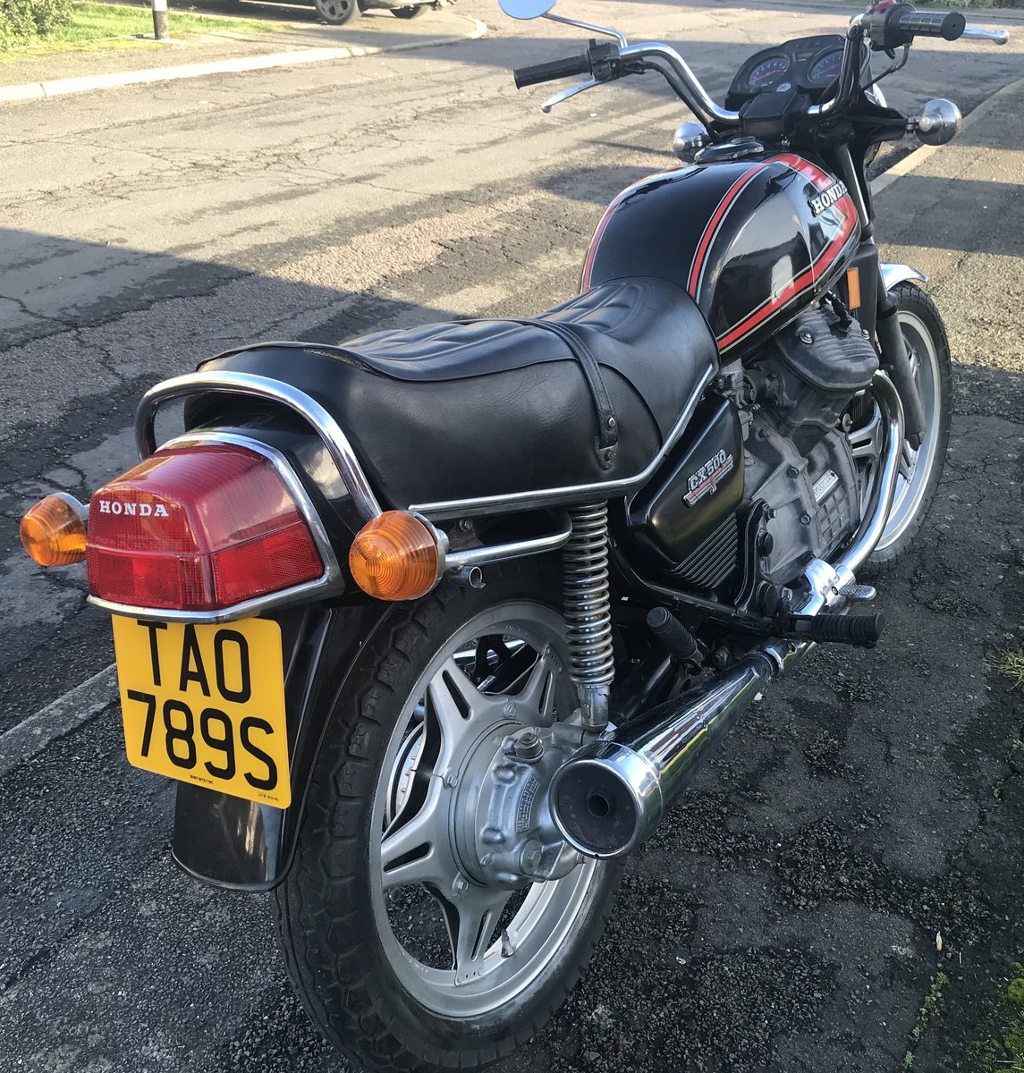 1977 Honda CX500 Historic Vehicle Tax and MOT exempt For Sale (picture 3 of 12)