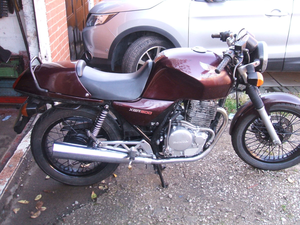 Picture of 1989 Honda XBR 500 For Sale