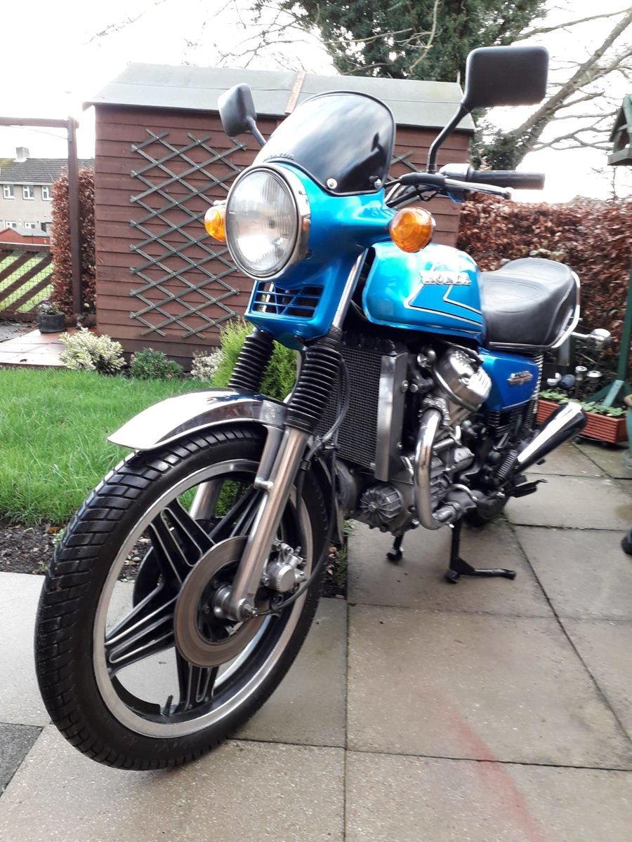 1982 Honda CX500 Very good original condition SOLD (picture 1 of 5)