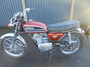 honda cb125s totally factory mint