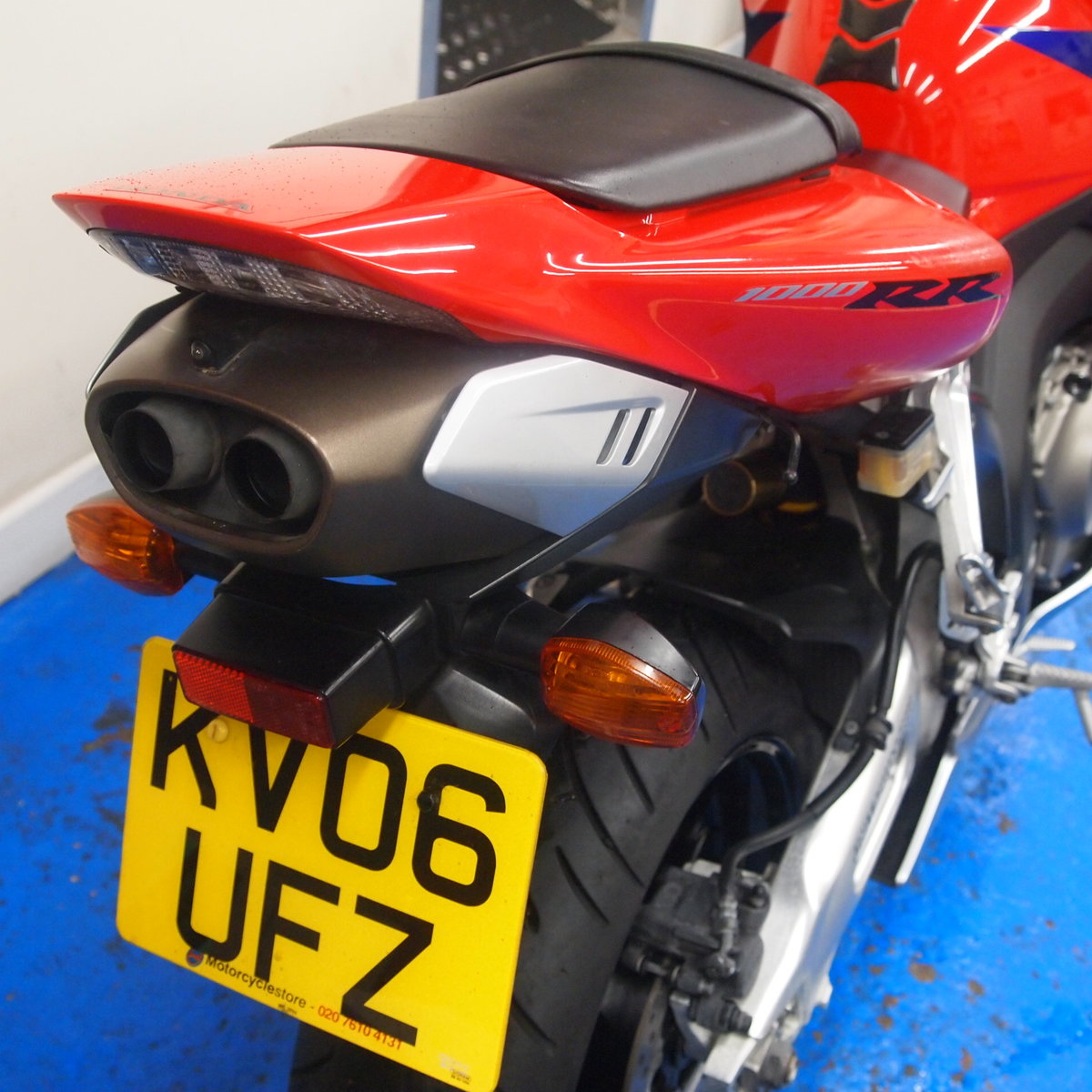 2006 Honda CBR1000RR5, FSH, Low Mileage, RESERVED FOR KARL. SOLD (picture 2 of 12)