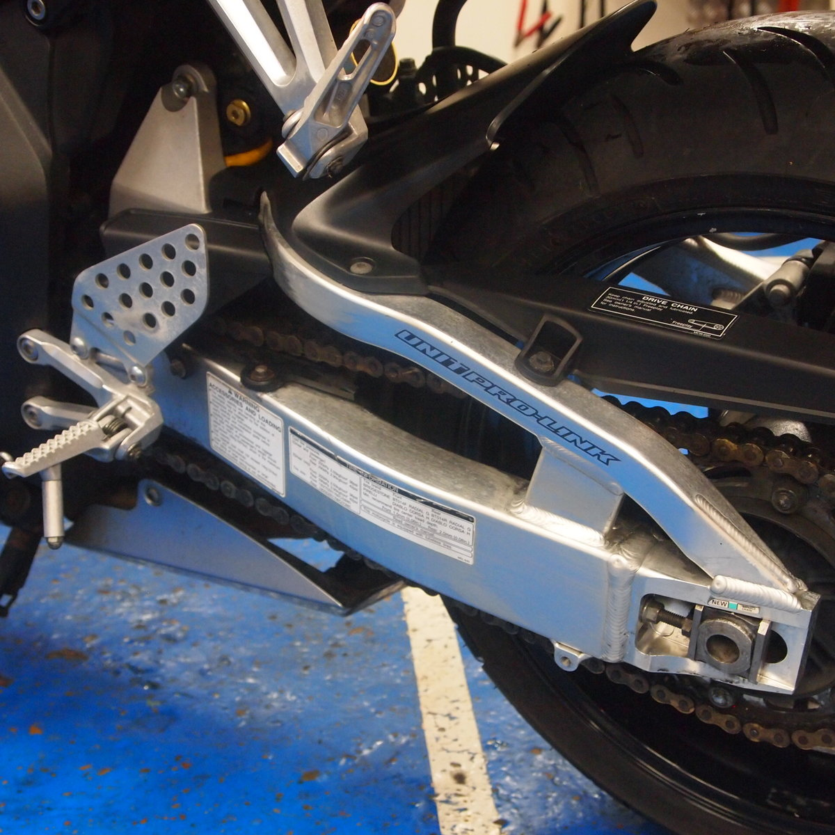 2006 Honda CBR1000RR5, FSH, Low Mileage, RESERVED FOR KARL. SOLD (picture 5 of 12)