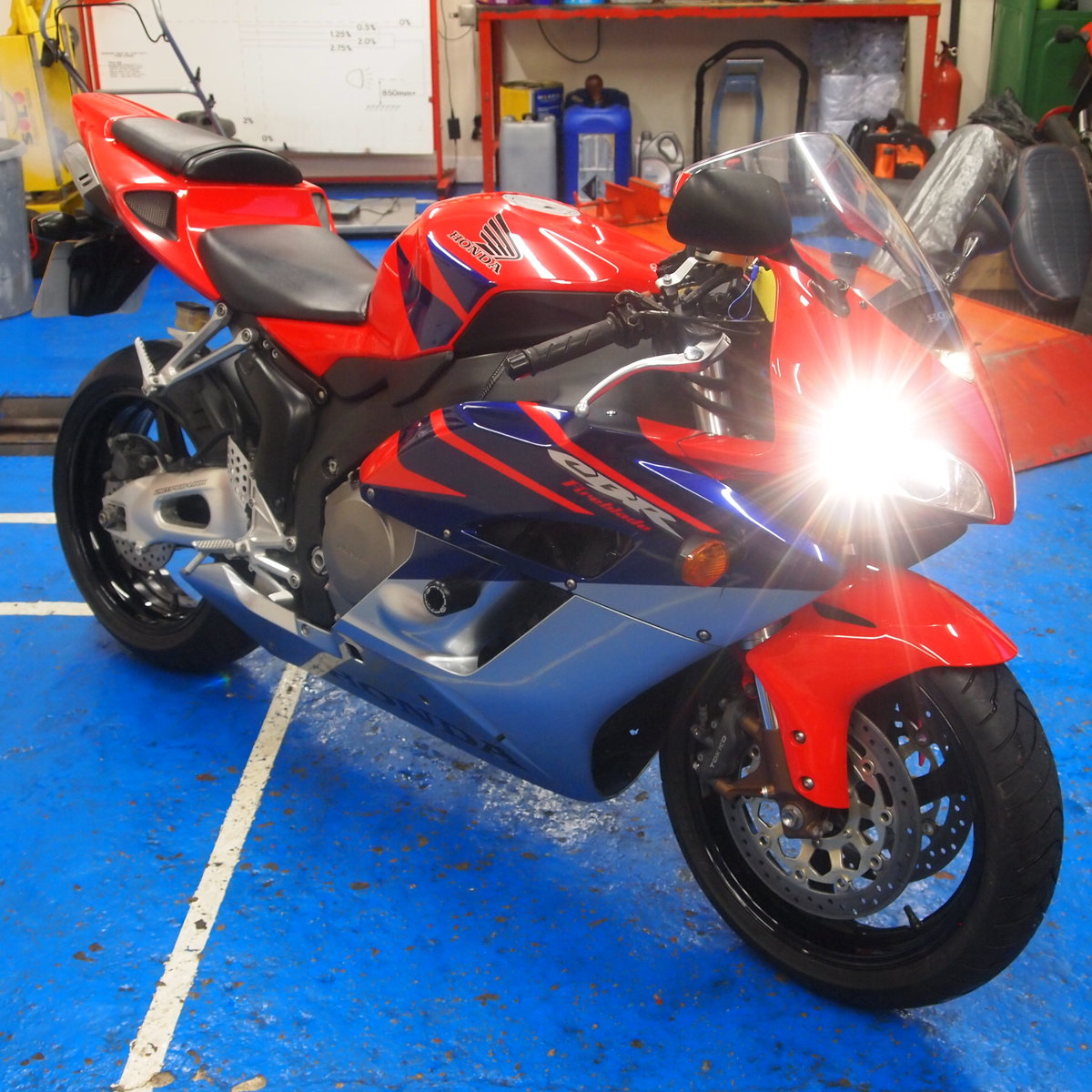 2006 Honda CBR1000RR5, FSH, Low Mileage, RESERVED FOR KARL. SOLD (picture 8 of 12)