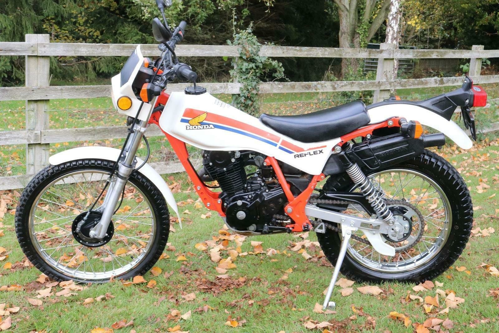 1986 Honda TLR 200 TL R 200 Reflex with just 613 miles from new!! For Sale (picture 1 of 5)