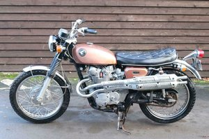 Honda CL450 CL 450 1968 first year model, 100% standard unto