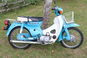 Picture of Honda C70 1980 runs and rides perfectly commuter or the back For Sale