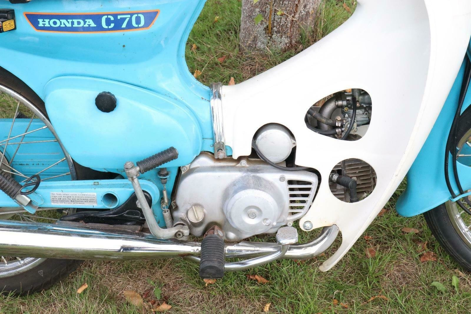 Honda C70 1980 runs and rides perfectly commuter or the back For Sale (picture 2 of 6)
